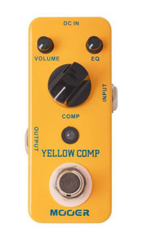 Picture of Pedale Effet Compression MOOER YELLOW COMP