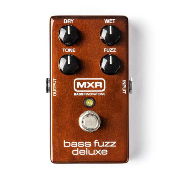 Image de Pedale Effet BASSE FUZZ MXR Bass Fuzz Deluxe