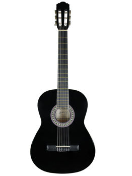 Image de Guitare Classique 4/4 ALABAMA Noir Brillante