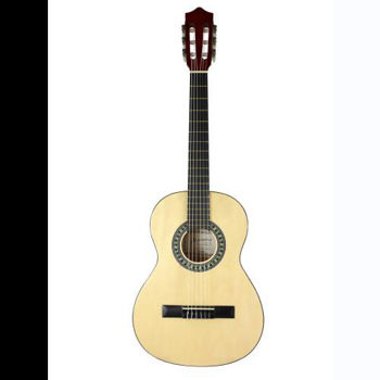 Image de Guitare Classique 4/4 ALABAMA Naturel Brillante