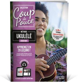 Picture of Coup de Pouce UKULELE Nouvelle Edition + Fichiers audio inclus