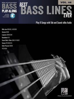 Picture of BASS PLAY ALONG 46 BEST BASS LINES EVER + code audio