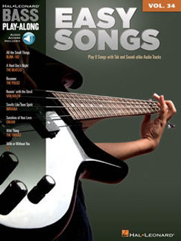 Picture of BASS PLAY ALONG V34 EASY SONGS