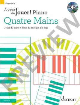 Picture of A VOUS DE JOUER PIANO 4 MAINS