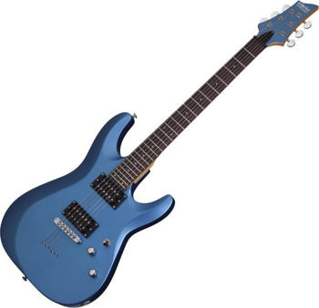 Image de Guitare Electrique SCHECTER C6 DELUXE Satin Metallic Blue