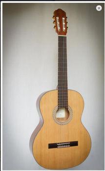 Image de Guitare Classique 7/8 KREMONA Serie Basic SOFIA Open Pore Cedre Massif / Sapelli