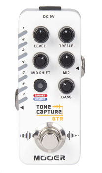 Picture of Pedale Effet MOOER TONE CAPTURE & EQ 7 Presets