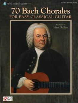 Image de BACH Chorales For Easy Classical Guitar Guitare + audio online