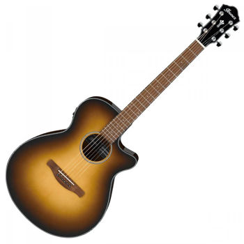 Picture of Guitare Folk Electro Acoustique IBANEZ AEG50 Dark Honey Burst High Gloss
