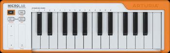 Image de Clavier Maitre USB ARTURIA MICROLAB Orange 25 Touches