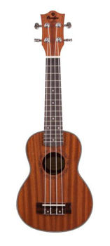 Image de UKULELE Soprano Electro Acoustique Prodipe Guitars ACAJOU BS1