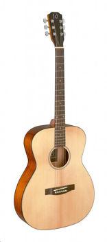 Image de Guitare Folk Acoustique JN Série BESSIE Epicéa Naturel Brillant