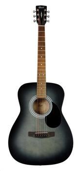 Image de Guitare Folk Acoustique CORT AF510 Open Pore Black