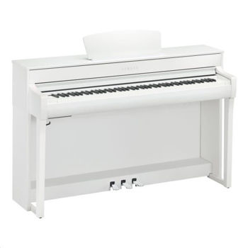 Picture of Piano Numerique YAMAHA CLP735WH Blanc
