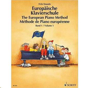Picture of EMONTS METHODE PIANO EUROPEENNE V1 Piano