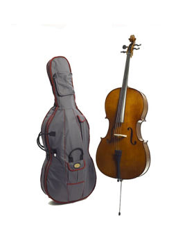 Picture of Violoncelle 1/2 STENTOR STUDENT II EBENE Housse + Archet