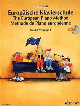 Picture of EMONTS METHODE PIANO EUROPEENNE V1+CDgratuit Piano