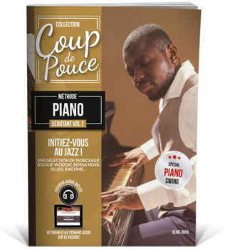 Image de Coup de Pouce PIANO JAZZ  V2 Methode + Fichiers audio inclus