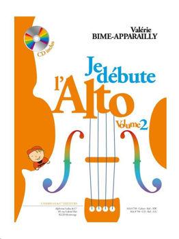 Image de BIME APPARAILLY JE DEBUTE ALTO VOL2 +CDgratuit Violon Alto