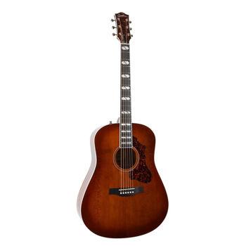 Image de Guitare Folk Electro Acoustique GODIN METROPOLIS LTD Havana Burst Acajou / Cèdre HG EQ +Etui TRIC