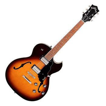 Picture of Guitare Electrique 1/2 CAISSE GUILD Starfire Antique Burst
