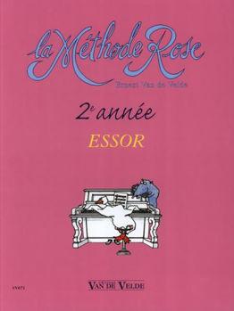 Picture of VAN DE VELDE METHODE ROSE 2ème ANNEE ESSOR Piano