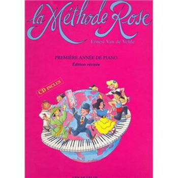 Picture of VAN DE VELDE METHODE ROSE +CD(gratuit) SPIRALE Piano
