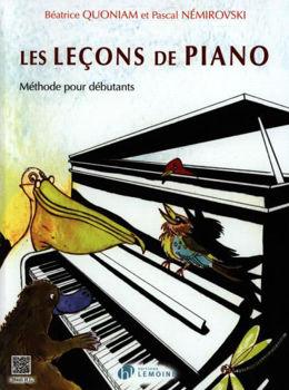 Image de QUONIAM LECONS DE PIANO Methode
