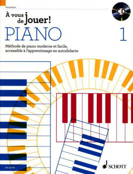 Picture of METHODE PIANO A VOUS DE JOUER ! V1 +CDgratuit