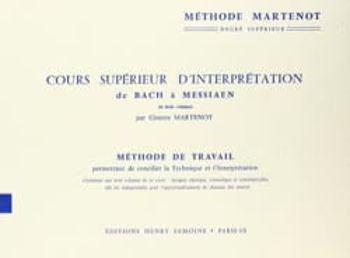 Image de MARTENOT METHODE DE TRAVAIL Piano