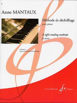 Image de MANTAUX METHODE DE DECHIFFRAGE Piano