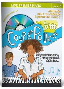 Image de LE P'TIT COUP DE POUCE PIANO Méthode enfant piano +CDgratuit