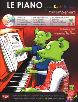 Image de LE PIANO POUR LES 5/8 ANS tout simplement C.ASTIE +CDgratuit