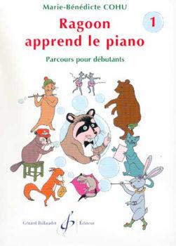 Picture of COHU Raggoon apprend Le Piano V1 methode Piano