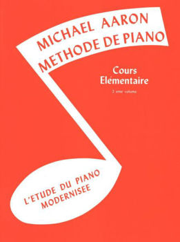 Picture of AARON Methode Piano Elementaire 2 Francais