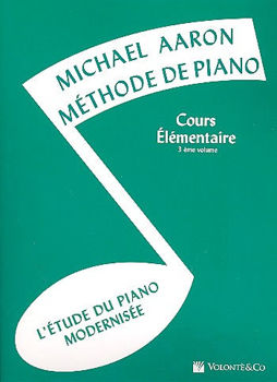 Picture of AARON Methode Piano Elementaire 3 Francais