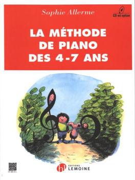 Image de ALLERME METHODE DE Piano 4-7 ANS