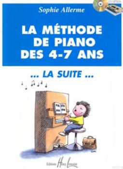 Image de ALLERME METHODE DE Piano 4-7 ANS LA SUITE
