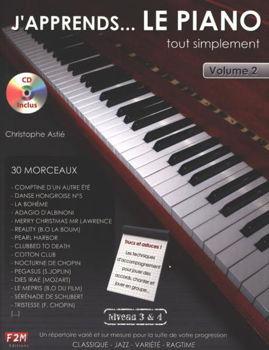 Picture of J'APPRENDS LE PIANO NIVEAU 3&4 C.ASTIE + CDgratuit