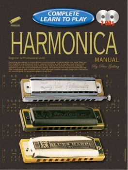 Image de COMPLETE LEARN TO PLAY Harmonica +2CD Gratuits