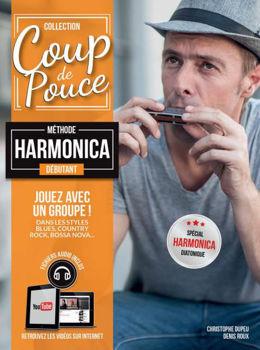 Image de Coup de Pouce HARMONICA Méthode + Fichiers audio inclus