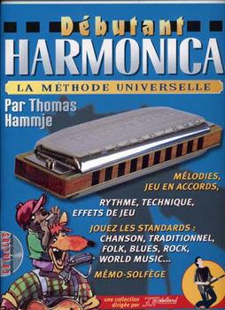 Image de DEBUTANT HARMONICA Methode +CD Gratuit Jj Rébillard