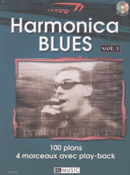 Image de HERZHAFT HARMONICA BLUES V1+CDgratuit