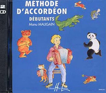 Image de MAUGAIN LES 2CDS de la METHODE ACCORDEON V1