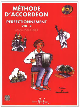 Image de MAUGAIN METHODE ACCORDEON V2 +CDgratuit