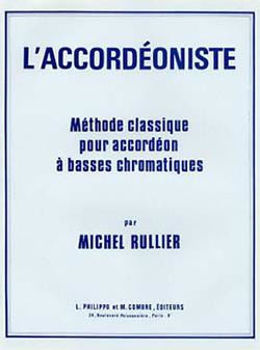 Image de RULLIER M. L'ACCORDEONISTE Methode a basse chromatique