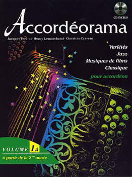 Picture of ACCORDEORAMA V1A +CDgratuit