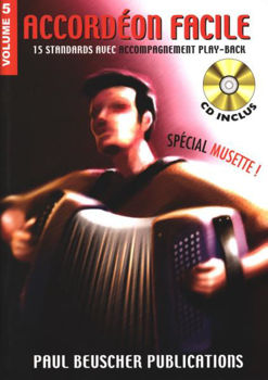 Picture of ACCORDEON FACILE V5 +CDgratuit SPECIAL MUSETTE