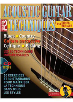 Picture of ACOUSTIC GUITAR TECHNIQUES V2 +CDgratuit