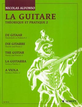 Image de ALFONSO LA GUITARE Theorique et Pratique 2 Guitare Classique